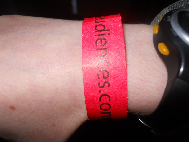 wristband, sro audiences
