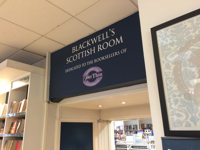 Blackwell's Scottish section
