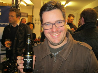 craft beer rising festival, old truman brewery, sharps brewery, Quadrupel Ale