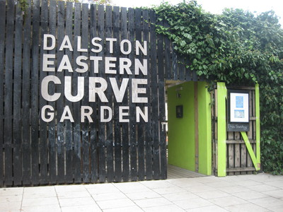 Dalston East Curve Garden Entrance