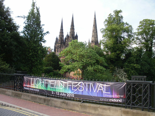 Lichfield Cathedral, Lichfield Festival. The Magic Flute, Mozart