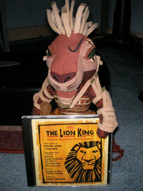 the lion king musical   lyceum theatre