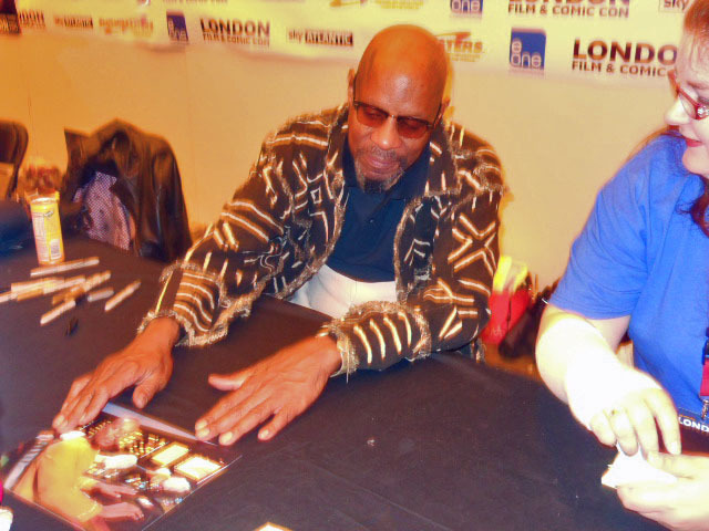 london film and comic convention, avery brooks