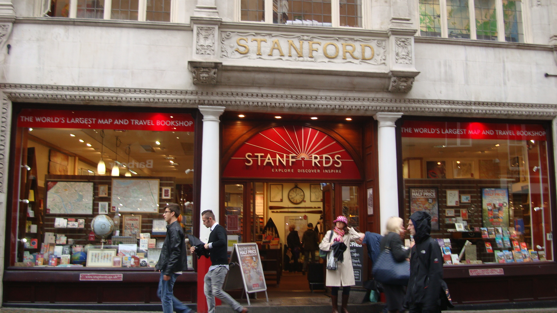 Stanfords Maps And Travel Store London