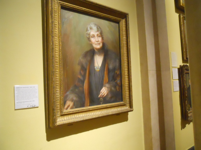National Portrait Gallery, emmeline pankhurst