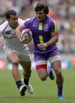 roar them on, marriott london sevens