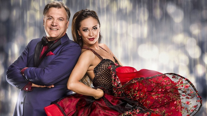 Strictly come dancing live 10th anniversary tour, ed balls,