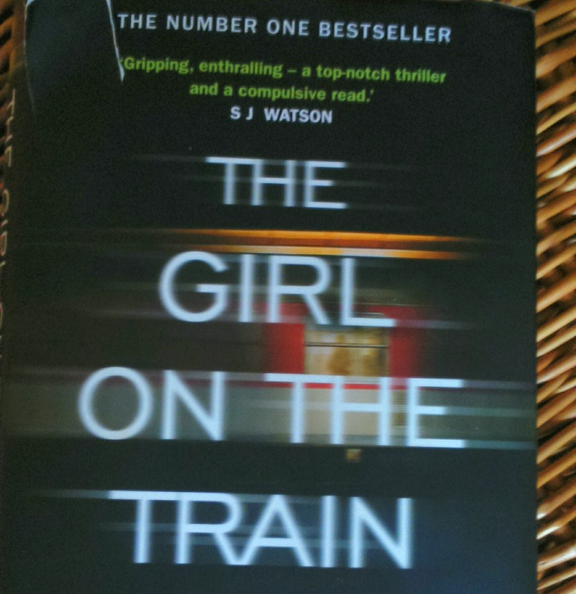 The girl on the train, most read books, UK