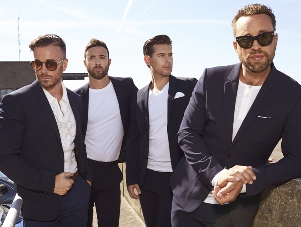 The Overtones, Symphony Hall Birmingham, Mike Crawshaw, Mark Franks, Darren Everest, Lockie Chapman, Timmy Matley,