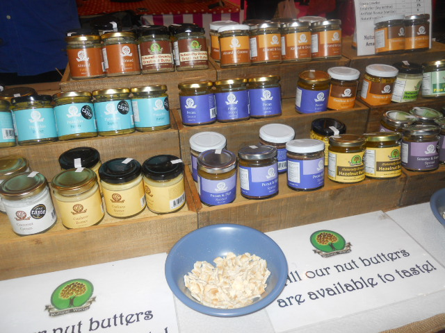 cake and bake show, nut butters