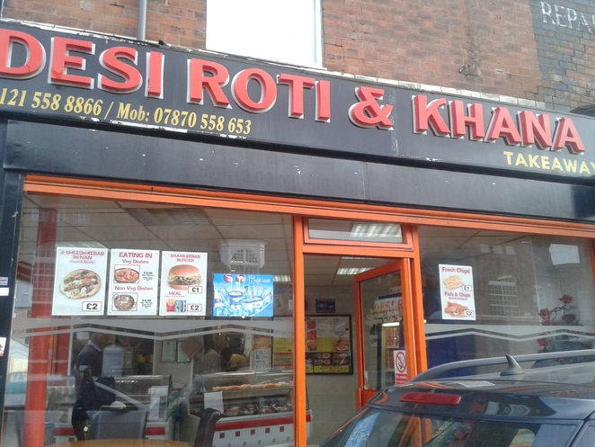 Desi Roti, Halal, curry, Indian takeaway