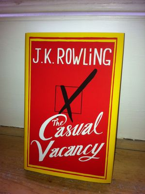JK Rowling, The Casual Vacancy, Bath, Literature Festival, author,