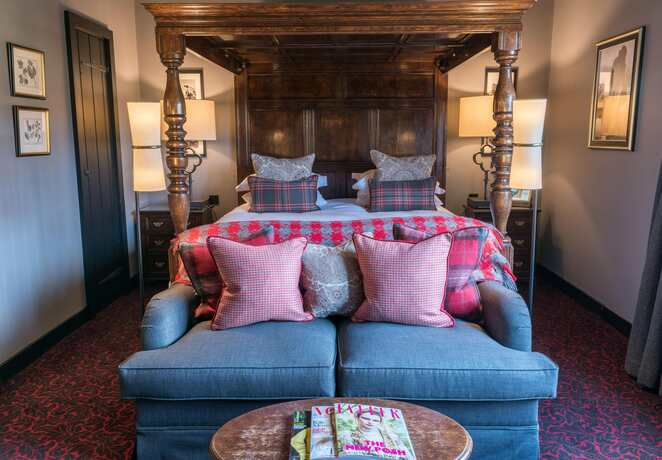 lygon arms, rooms, staycation cotswolds, broadway