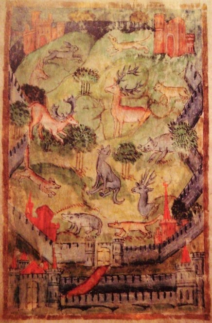 medieval deer parks, medieval hunting, hampshire field club, hampshire history, deer parks