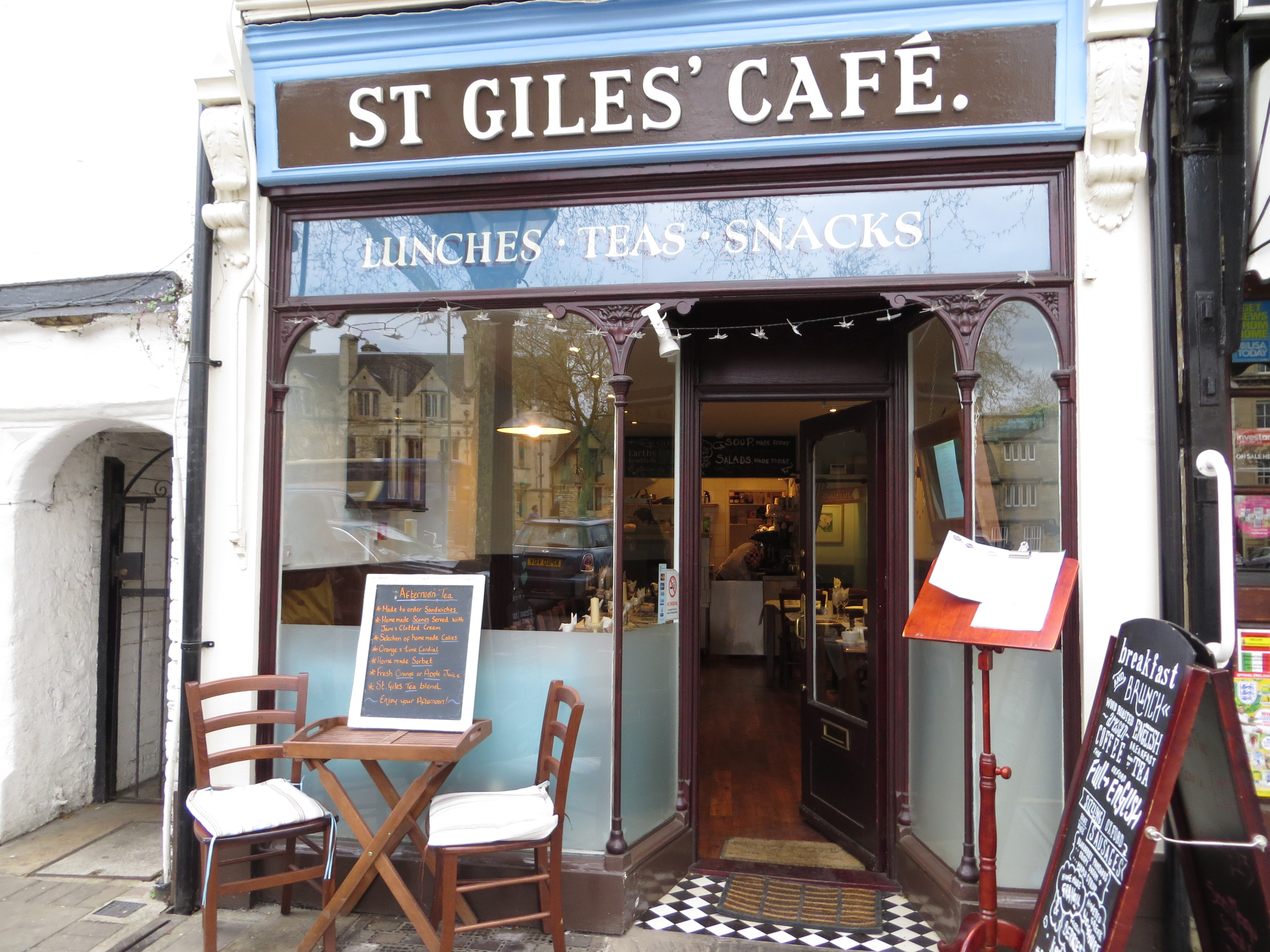 St Giles Cafe - Oxford