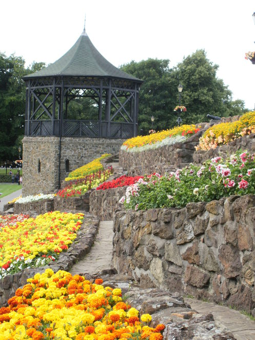 Tamworth Castle Grounds, Heart of England in Bloom