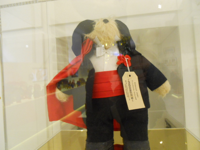 the paddington curiosity shop, selfridges, paddington trail, paddington bear, gabrielle designs