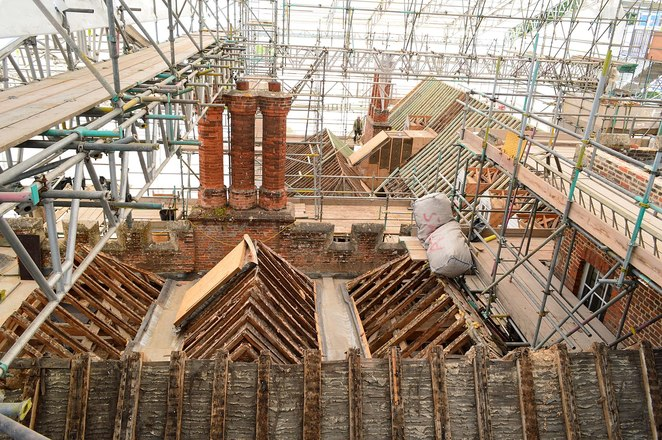 the vyne restoration project, the vyne roof restoration, meet the project specialist, national trust, historic houses, heritage buildings