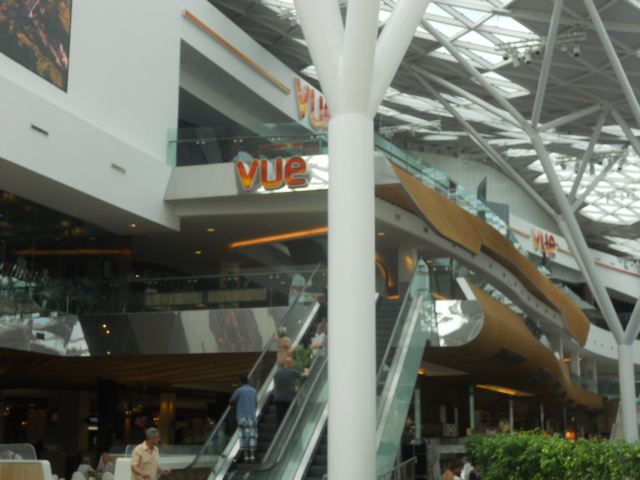 westfield london, vue cinema