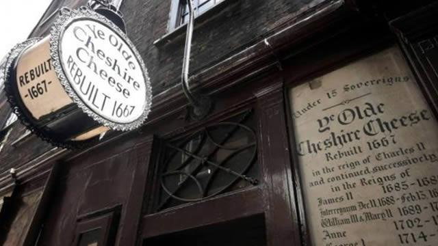 ye olde cheshire cheese fleet street