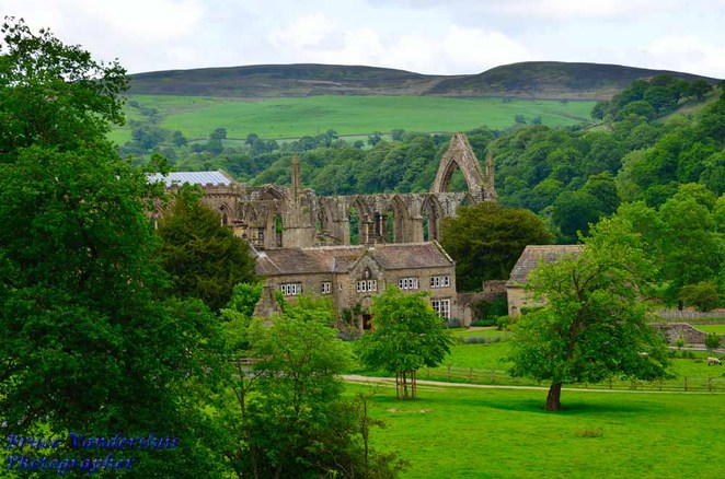 Bolton abbey estate, skipton, north yorkshire, england, united kingdom, bruce vandersluis images, ghosts, parklands, ruins