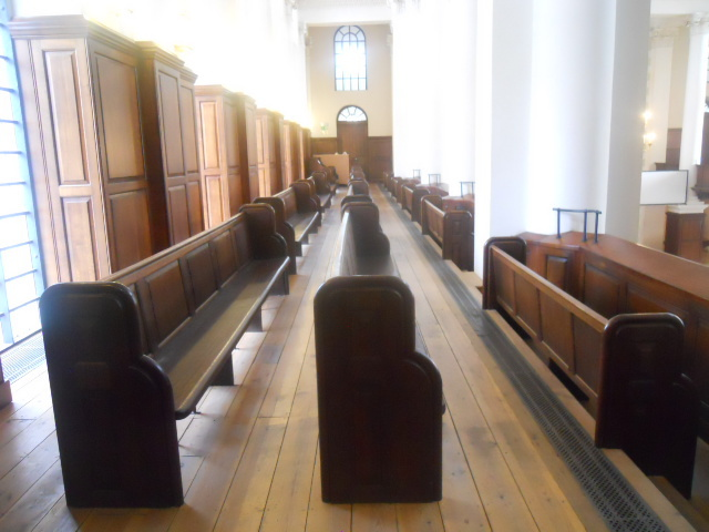 christ church spitalfields, benches