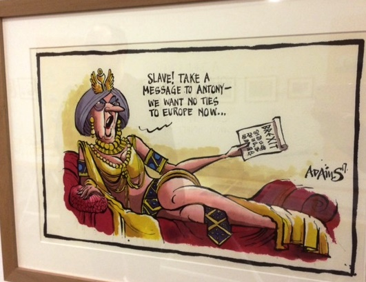 Draw New Mischief, RSC, political cartoons exhibition