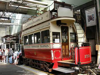 festival of model tramways, Museum of Transport, manchester, tram