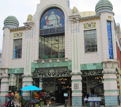 Michelin House - front facade