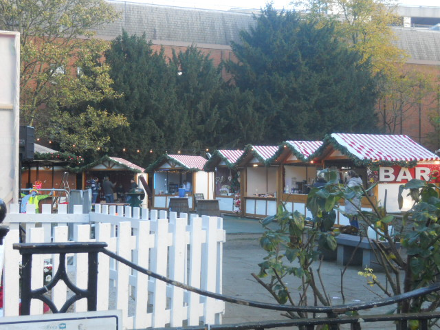 kingston, christmas market, memorial gardens