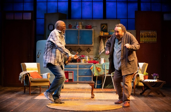 Kunene and the king, Antony Sher, John Kani, rsc, comedy