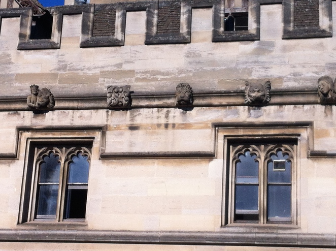 magdalen, college, oxford, grotesque