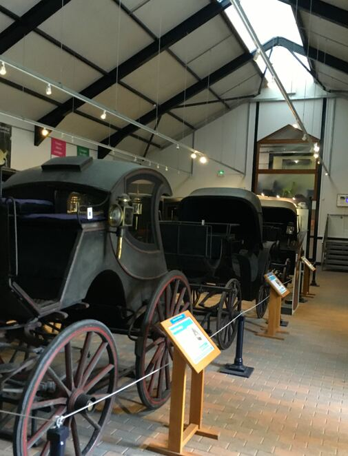 museum,carriage,horses,arlington court