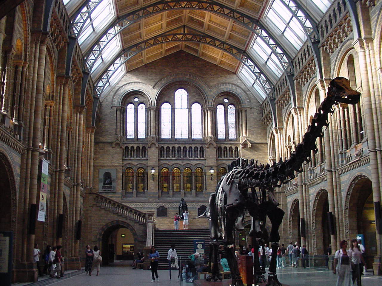 The Natural History Museum - London - by RK