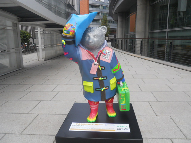 paddington trail, paddington bear, futuristic robot bear, jonathan ross