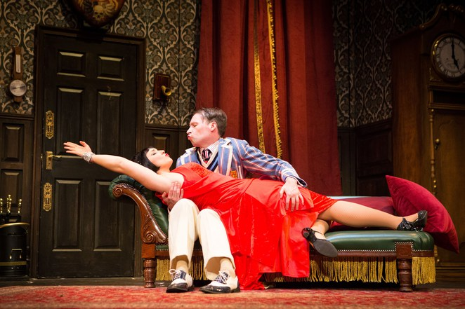 the play that goes wrong, mischief theatre company, birmingham rep