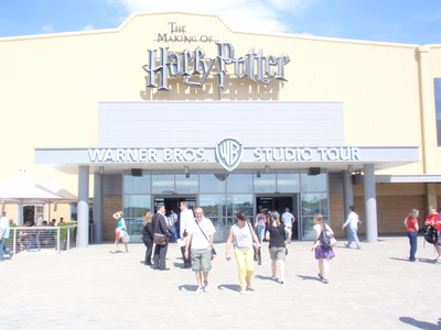 The Making of Harry Potter. Warner Brothers Studio Tour