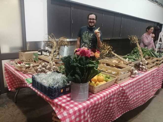Root Connections, Market, Cheese & Grain, Frome, Veg, Flowers
