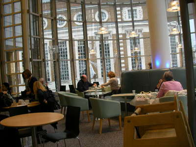 john Lewis, espresso bar, food, cafe