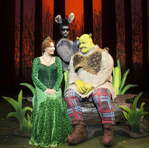 Shrek uk theatre tour.