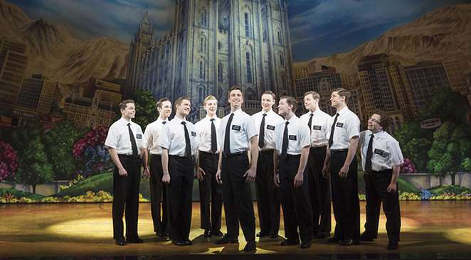 The Book of Mormon Cast