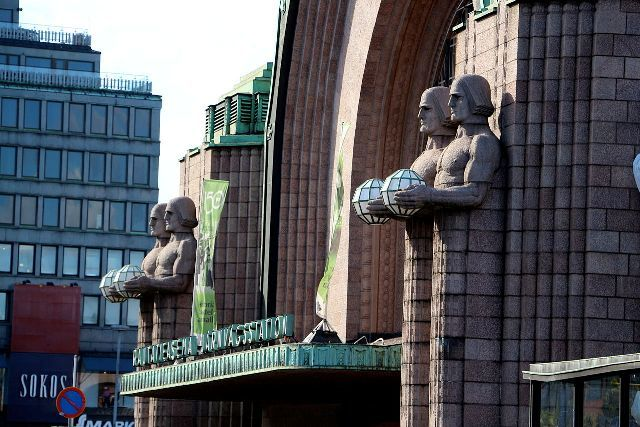 art nouveau places to visit, helsinki train station,finland