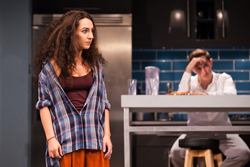 Bad Jews, theatre review, Malvern Theatres, Richmond Theatre, London, Joshua Harmon, Ailsa Joy, Daniel Boyd, Antonia Kinlay, Jos Slovick