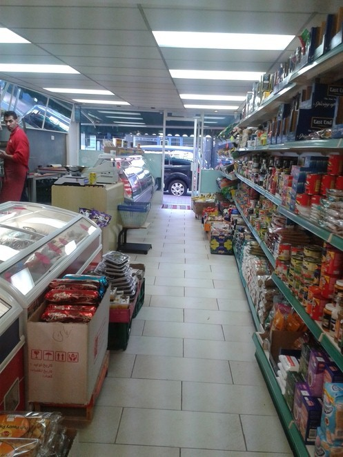Bearwood Halal meat shop and mini market, groceries, market,