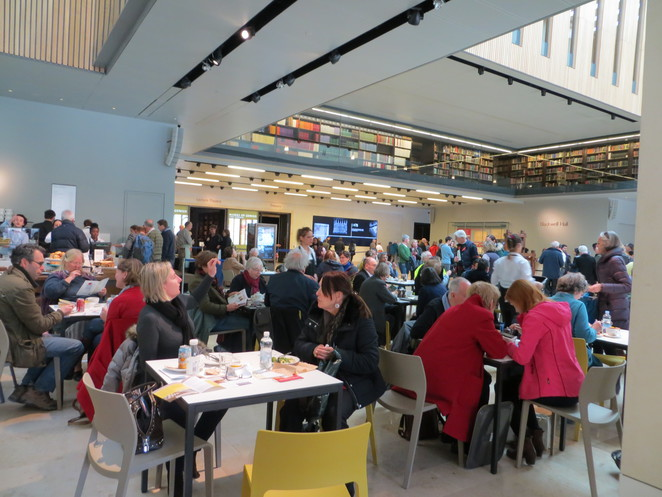bodleain, library, weston, cafe, atrium