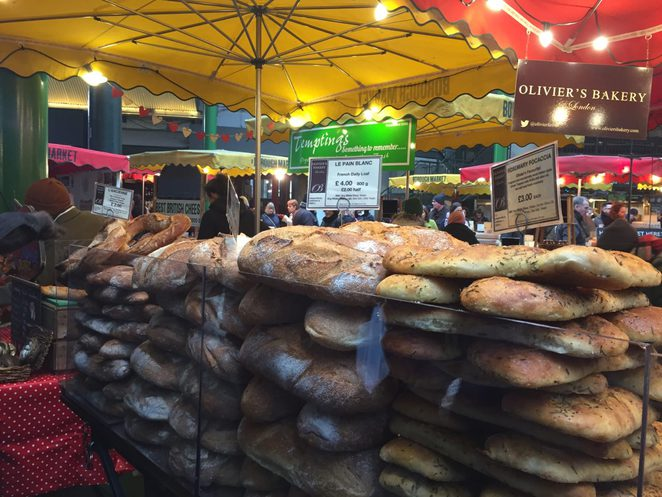Bread, Borough Market, London, Italian Food