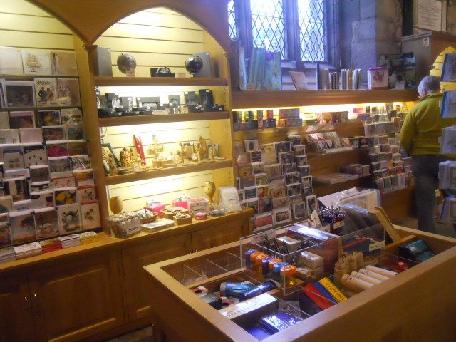 cartmel priory, st mary, st michael, gift shop