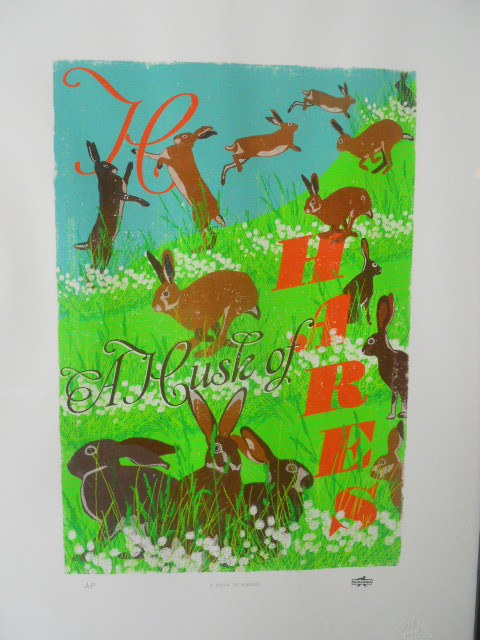 house of mina lima, hustle of hares, compendium of collective nouns, woop