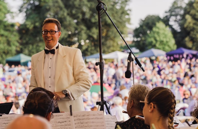 Lichfield Proms, Mark Vause