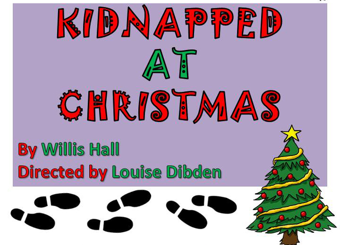 lyndhurst drama and musical society, theatre, community theatre, amateur theatre, kidnapped at christmas, lyndhurst theatre, southampton theatre